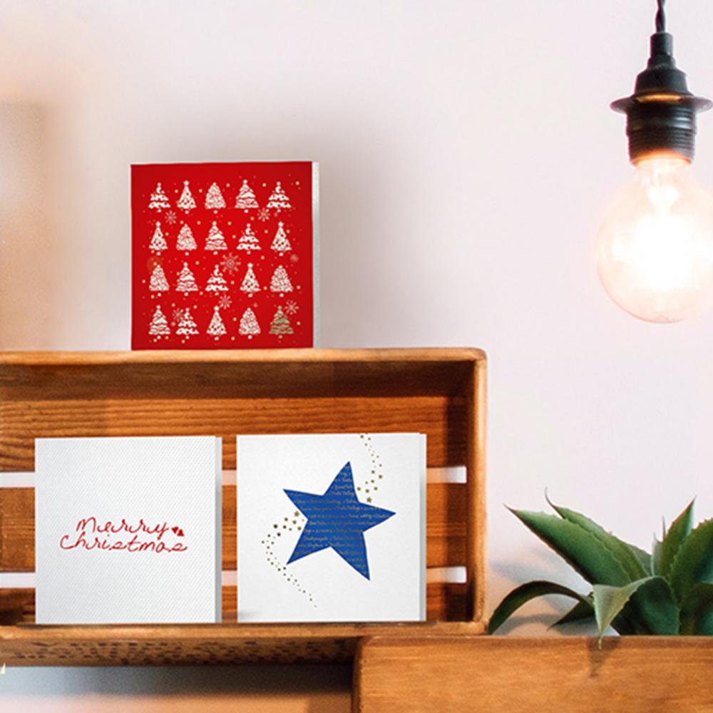 Diseño y producción de tarjetas de Navidad para empresas y particulares